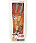 "Star Wars Forces Of Destiny Rey Jakku 41"" Extendable Staff BladeBuilders Disney - $9.95"