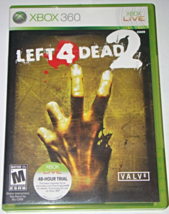 XBOX 360 - LEFT 4 DEAD 2 (Complete with Manual) - $15.00