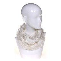 Cejon Trendy Patterned Fashion Scarf - White - £12.24 GBP