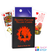 Reading fortune telling cards deck and book us games systems Gypsy with - $44.78