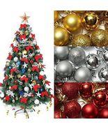 Christmas Tree Xmas Balls Decorations Baubles Party Wedding Ornament 24p... - $5.97