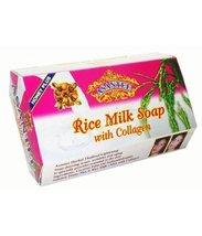Anti Aging Rice Milk Collagen Soap - Deters Wrinkles Herbal by Assantee - $12.43