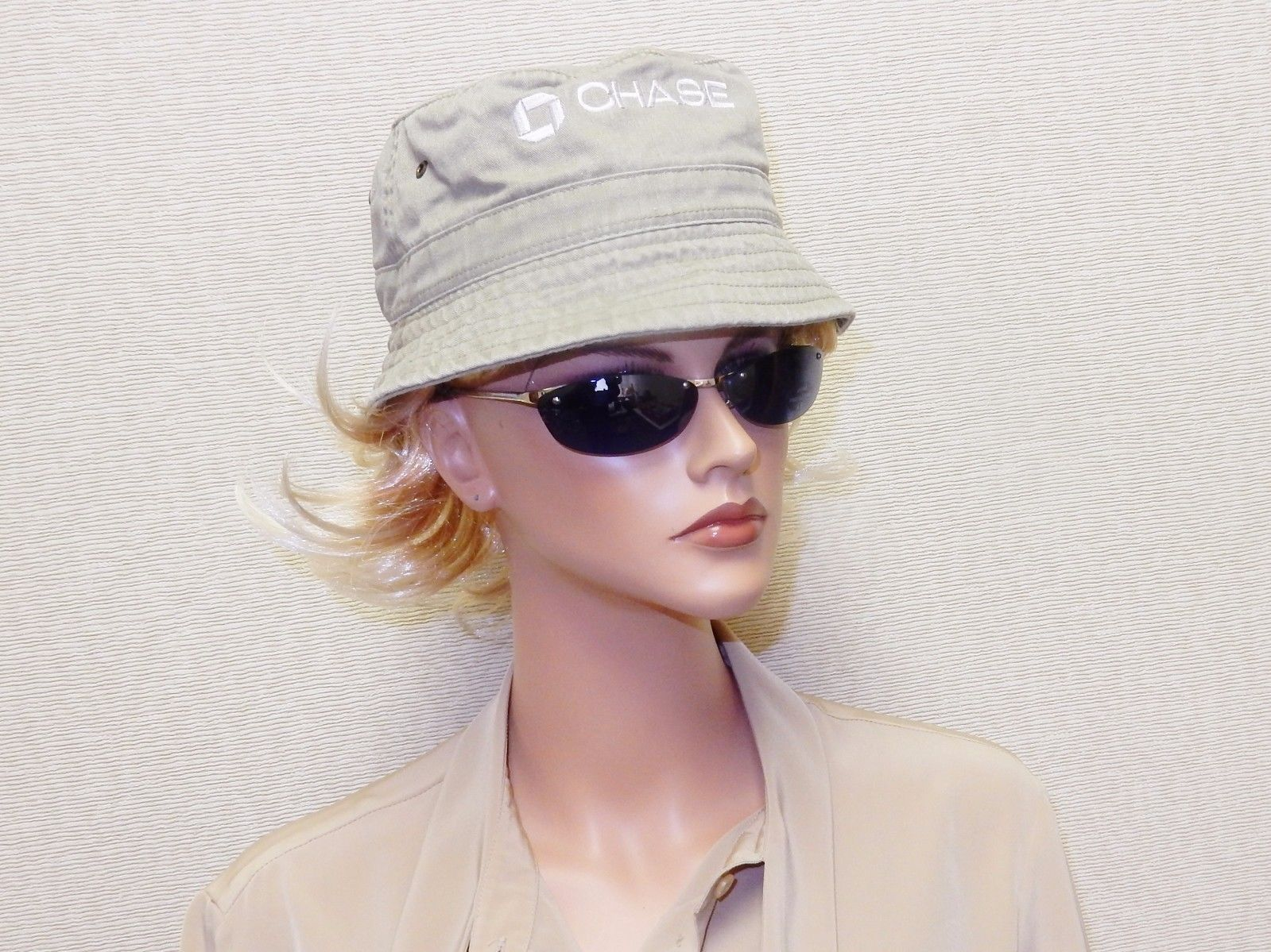 54b24649d5571 Khaki Denim Bucket Hat