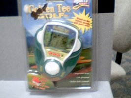 1999 Tiger Electronics Incredible Technologies Sports Feel Games Golden Tee Golf image 1