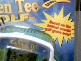 1999 Tiger Electronics Incredible Technologies Sports Feel Games Golden Tee Golf image 3