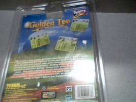 1999 Tiger Electronics Incredible Technologies Sports Feel Games Golden Tee Golf image 9