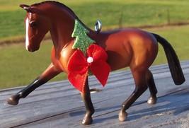 Custom Breyer Stablemate Hanoverian Warmblood Dressage Horse Christmas O... - $18.00