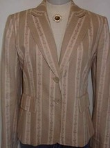 Tan Cream Pink Horse Dog Show Hobby Halter Jacket SZ 8 Western Showmanship Rail - $55.00