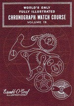 Valjoux Cal. 71 Chronograph - How to Repair - Book-CD - $4.99
