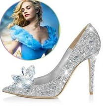 New Women's Cinderella Wedding Party Diamond La... - $34.99