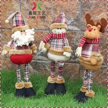 Xmas Christmas Santa Claus Snowman Reindeer Doll Ornament Gift Home Yard... - €16,73 EUR+