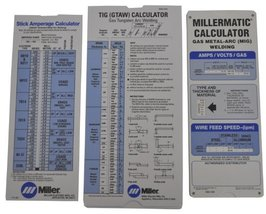 Professional Tool Industrial Soldering Miller 043125 Package Calculator Pak - $17.04