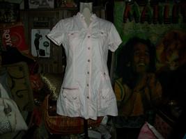 ANTHROPOLOGIE MURMUR Sweet Pink Bling Mini Dress Size L - $13.86