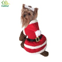 S/M/L/XL Pet Puppy Dog Christmas Clothes Santa Claus Costume Outwear Coa... - $16.04