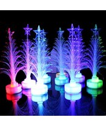 Christmas tree with top star night light lamp color changing children s gift wholesale thumbtall