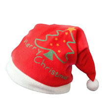 Cute Santa Claus Hat Velvet Christmas Xmas Adult Kid Children Costume He... - $9.45