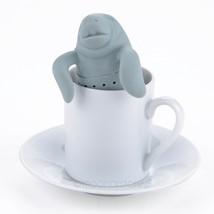 Cheap Silicone Sea Lion Tea Strainer Manatee-Shaped Tea Infuser FMHM705#M1 - $9.35