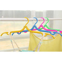 Folding Clothes Drying Rack Travel antiskid Clothes Hanger Space Saving ... - $13.93