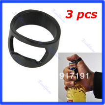3pcs/lot Stainless Steel Finger Ring Bottle Opener Beer Bar Tool - $8.76