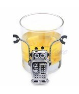 Robot Hanging Tea Leaf Diffuser Infuser Stainless Strainer Herbal Spice ... - $184,38 MXN