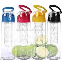1 PC 800ML Fruit Infusing Infuser Water Sports Health Lemon Juice Bottle... - $16.27