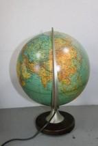 Columbus Verlag Paul Oestergaard Duplex Light Up World Globe Lamp Earth image 2