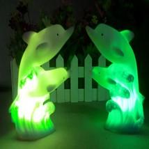 Novelty 3D Cartoon Led Night Light 7 colors dolphin lamps Creative Decor... - €6,85 EUR