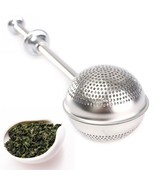ball infuser stainless steel spice herbal tea leaf strainer home convenient necessary thumbtall