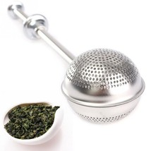 Mesh Loose Tea Ball Infuser Stainless Steel Spi... - $9.41