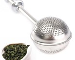 L infuser stainless steel spice herbal tea leaf strainer home convenient necessary thumb155 crop