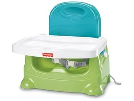 Baby Feeding Booster Chair FisherPrice Healthy Care Seat GreenBlue V8638 - $43.47
