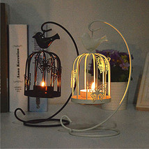 1 PC Hanging Design Metal Vintage Butterfly Pattern Lantern Candlestick ... - $32.00