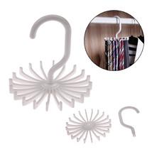 LS4G Adjustable 20 Hook Rotating Belt Rack Scarf Scarf Organizer Men Tie... - $8.72