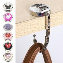 Portable Metal Foldable Bag Purse Hook Bag Hanger Purse Hook Handbag Hol... - £7.26 GBP