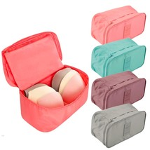 Portable Travel Storage Bag Underwear Bra Toiletry Organizer Case Pouch - $15.26