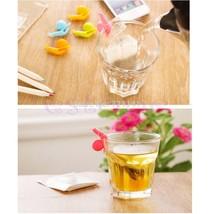5pcs/set Cute Snail Shape Silicone Tea Bag Hold... - $8.30