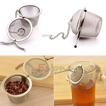 1pc Practical Tea Ball Spice Strainer Mesh Infuser Filter Stainless Stee... - $8.52