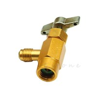1PC Refrigerant Can Bottle Tap 1/4 SAE M14 R-134a Thread Adapter Opener ... - $11.07