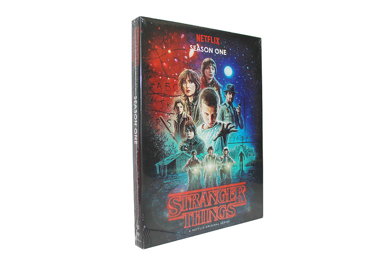 Stranger Things The Complete Frist Season 1 One DVD Box Set 2 Disc Free Shipping