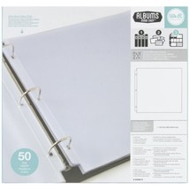 We R Memory Keepers Ring Page Protectors 12 by ... - $51.50