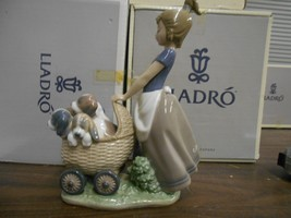 LLADRO LITTER OF FUN PRIVATE COLLECTION RETIRED ISSUED 2001 6X4 3/4 ORIG... - $233.40