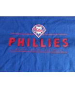 New w/o tags Blue Majestic Philadelphia Phillies MLB Baseball T Shirt Ad... - $16.37