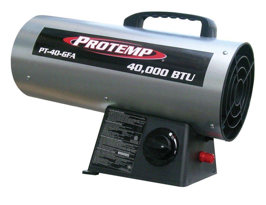 Propane Forced Air Heater Portable Indoor Garage Shop Warm ...