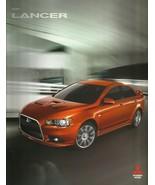 2009 Mitsubishi LANCER brochure catalog 2nd Edition 09 US RALLIART ES GTS - $8.00