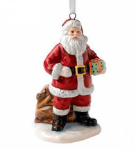 Royal Doulton Christmas Ornament SANTA & SACK of Toys Figurine New - $19.50