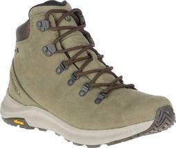 Merrell Ontario Mid Waterproof Hiker Boot (Men's) in Olive Green Leather... - $188.95