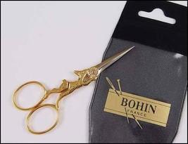 "Bohin Gilded Rabbit Embroidery Scissors 3 7/8"" cross stitch Bohin - $22.60"