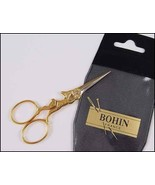 "Bohin Gilded Rabbit Embroidery Scissors 3 7/8"" cross stitch Bohin - $22.60"