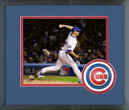 Mike Montgomery Cubs Game 4 of the 2016 World Series -11x14 Matted/Framed Photo - $43.55