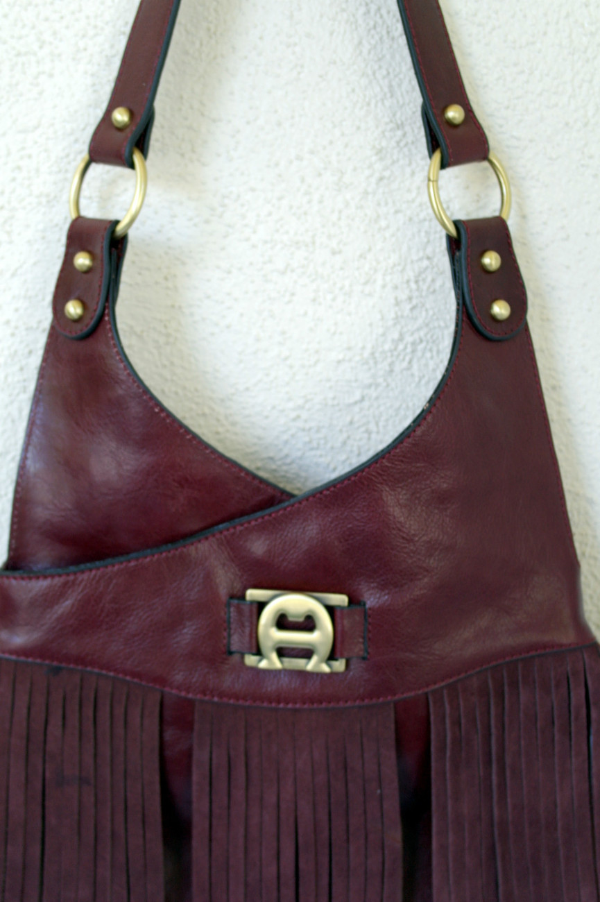 Etienne Aigner NEW $148.50  Vintage Redux Collection Retro style Leather Handbag - $130.00